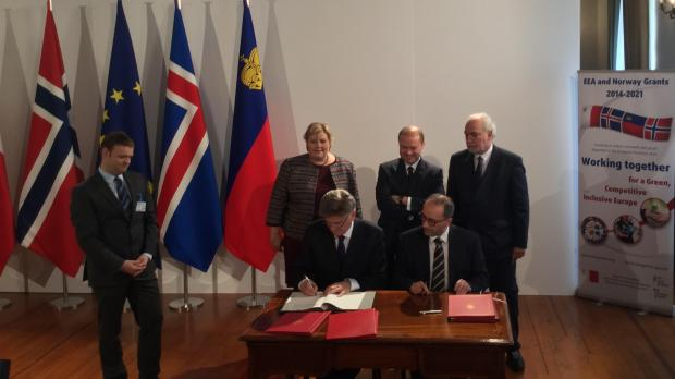 EEA Norway signing of MOU