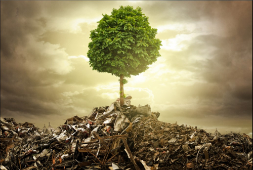 Picture representing landfill management - Cocoon project